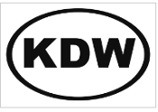 4 X 6 OVAL CAR STICKER KDW